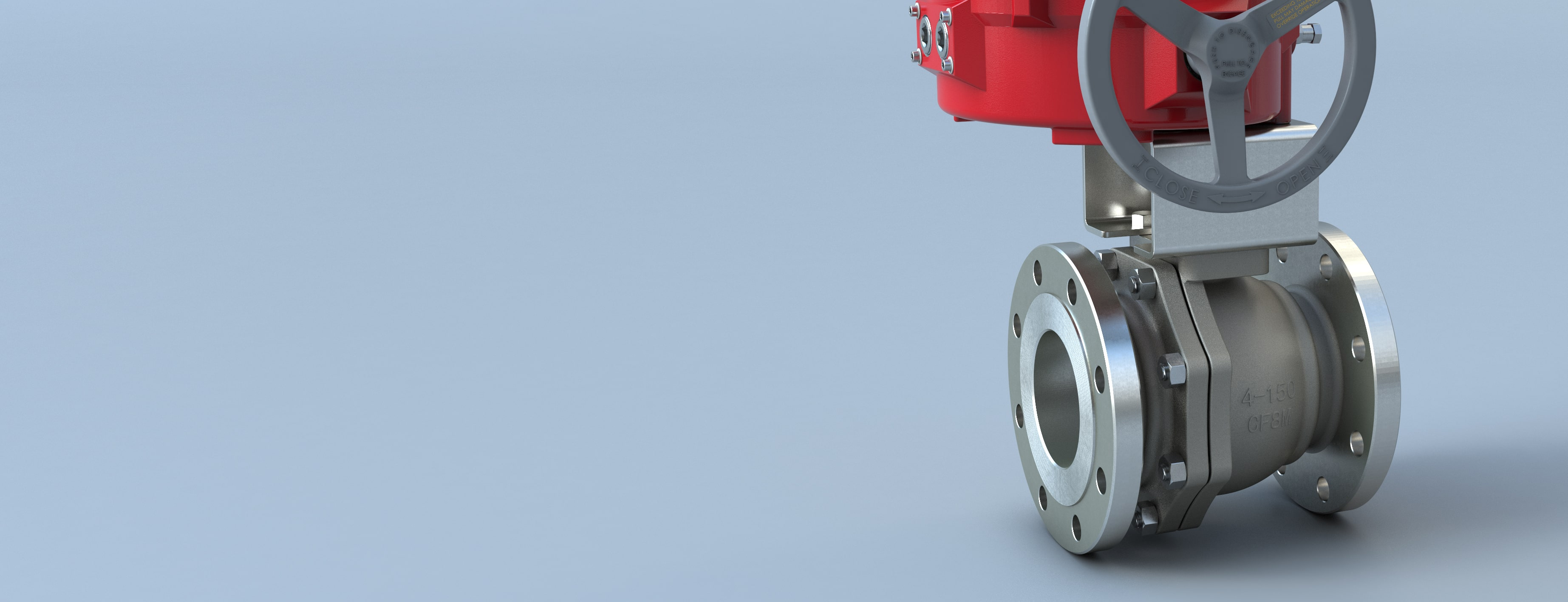 Flanged Ball Valve F15-F30 Metal Seated Flow-Tek