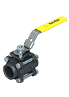 3-Piece Ball Valve S6000 Flow-tek Thumbnail