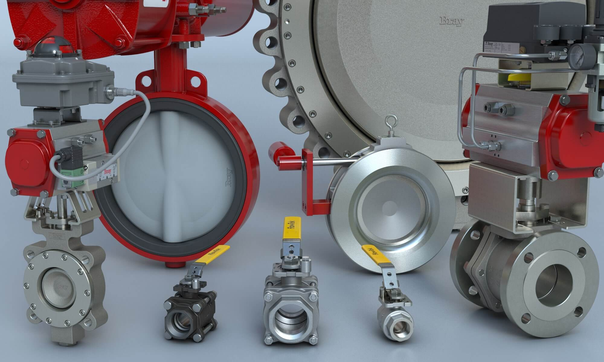 Bray International Butterfly and Ball Valves