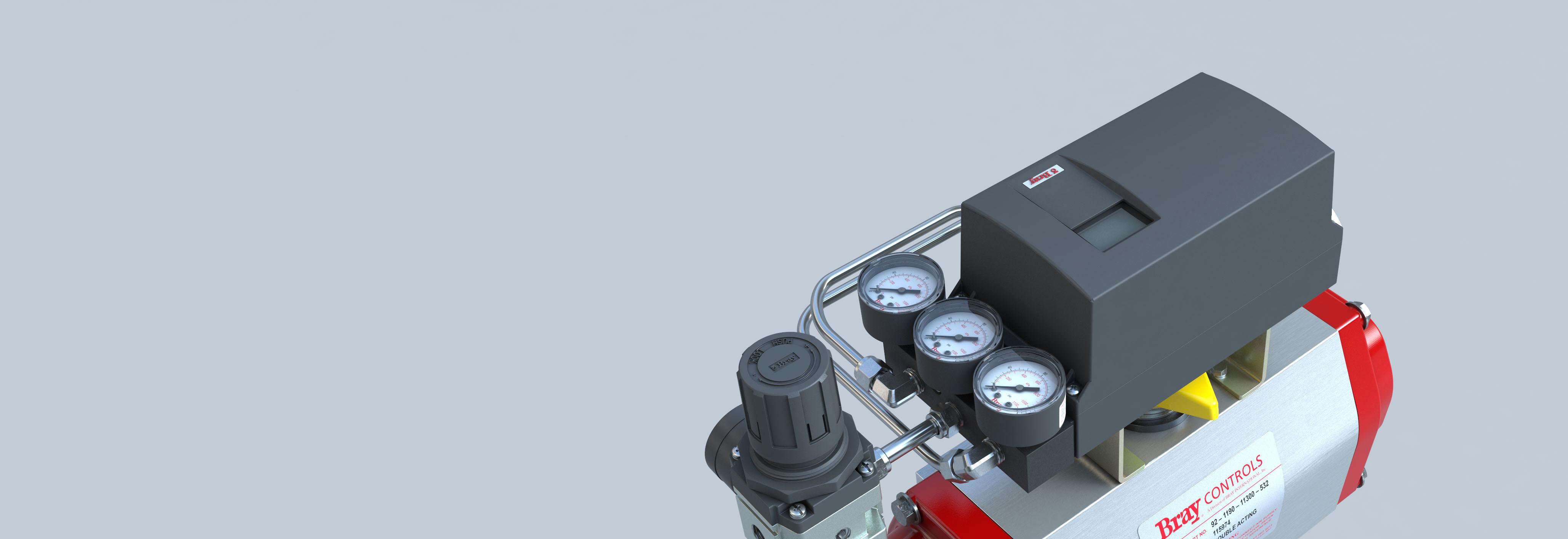 Posicionador eletropneumático da Série 6A Bray International