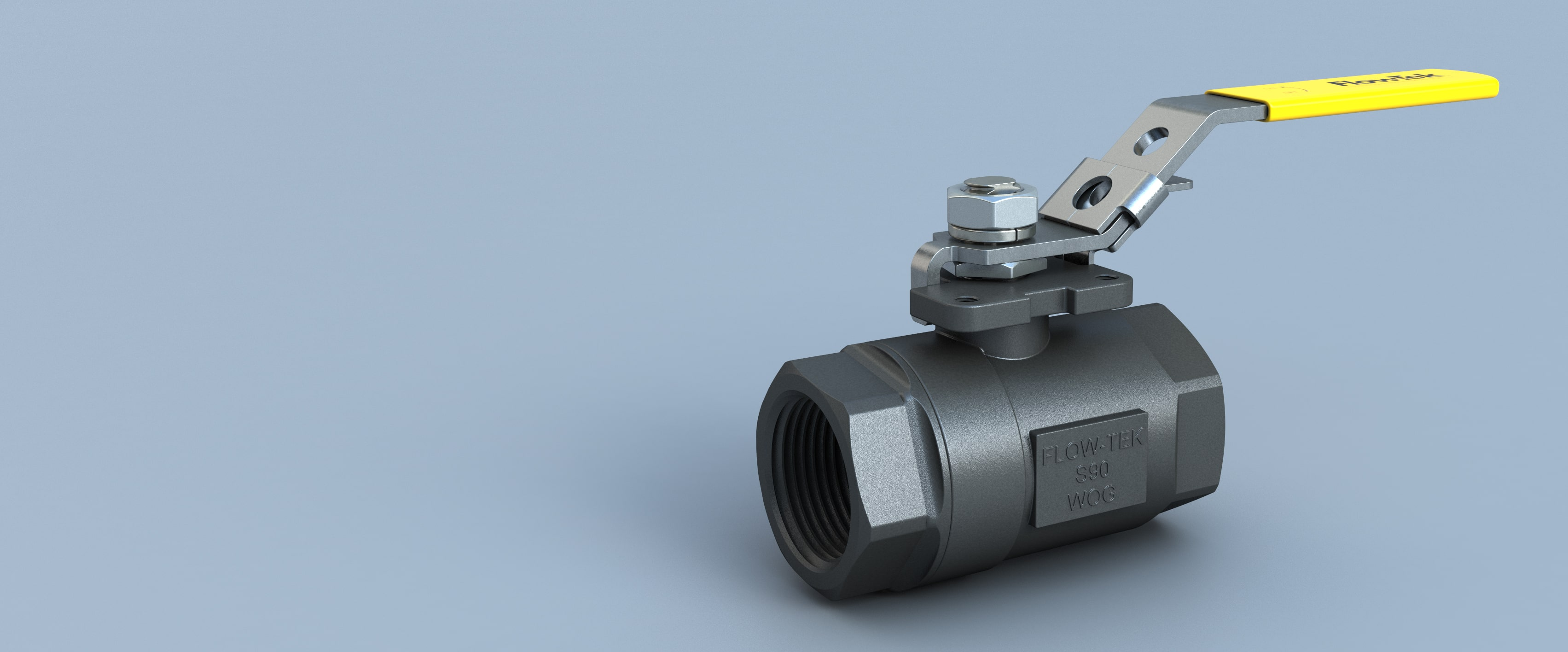 Threaded Ball Valve S70-S90 Flow-tek Bray