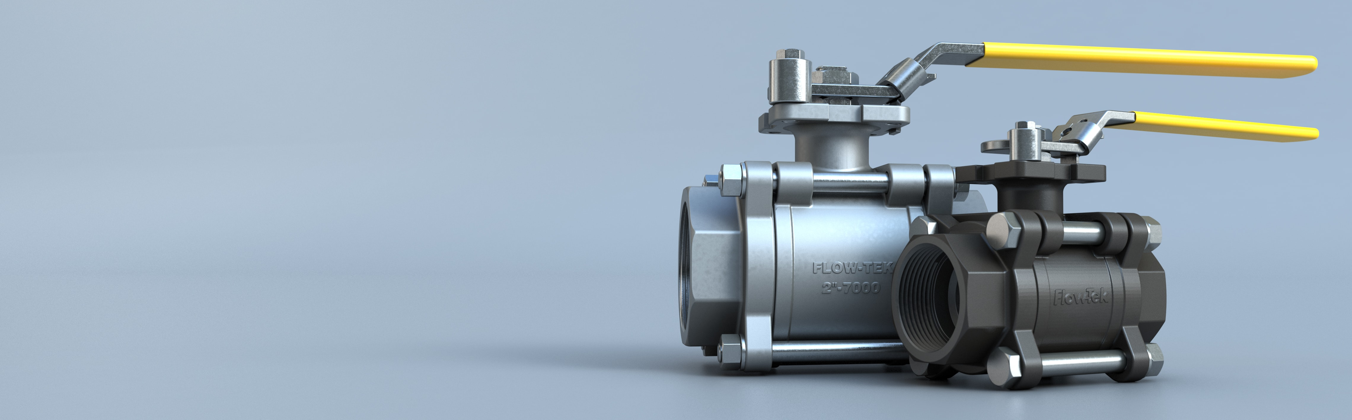 Three Piece Ball Valve Series 7000-8000