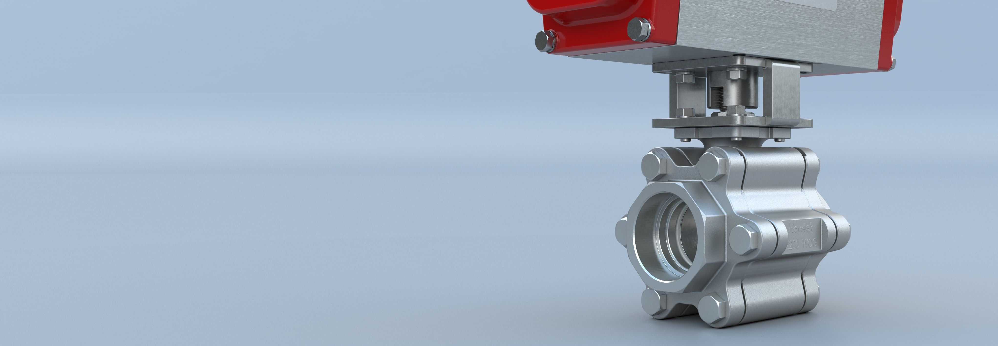 Three Piece Ball Valve Triad Flow-Tek