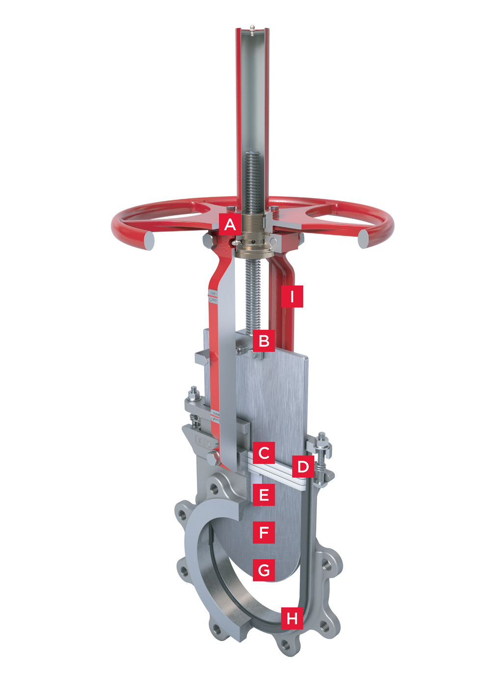 Bidirectional Knife Gate Valve Series 740 Features