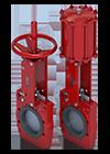 Válvula guilhotina bidirecional da Série 765 - Miniatura