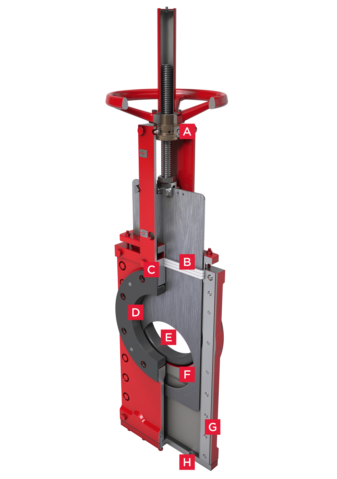 Bidirectional Knife Gate Valve Series 770 Features