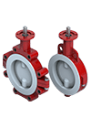 PTFE Lined Butterfly Valve S22-23 Thumbnail